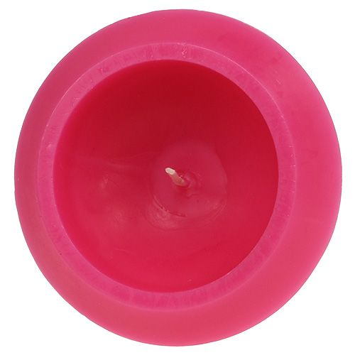 Schwimmkerze in Pink Ø16cm