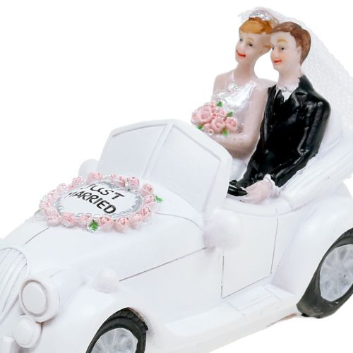 Spardose Hochzeitsauto 14,5cm