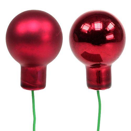 Spiegelbeeren Rot Mix Ø25mm 140St