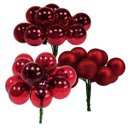 spiegelbeeren rot mix 25mm 140st preiswert online kaufen. Black Bedroom Furniture Sets. Home Design Ideas
