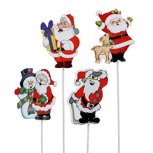 Edelrost Weihnachtsmann Nikolaus Dekoration Advent Weihnachten Türkranz Hänger