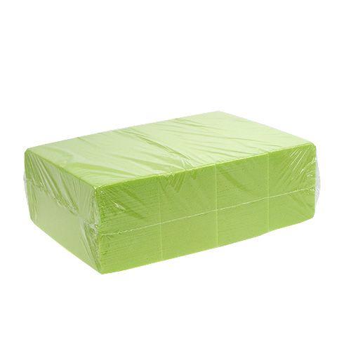 Steckschaumziegel Rainbow Lime Grün 4St
