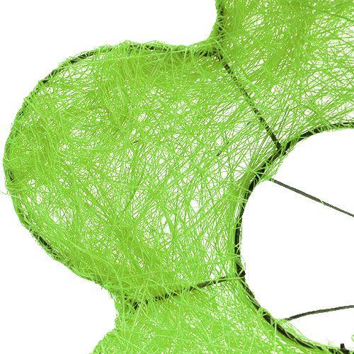 Sisalmanschette 20cm Hellgrün 8 St