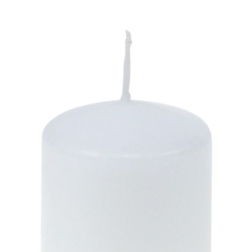 Stumpenkerze 70/60 Weiß 16St