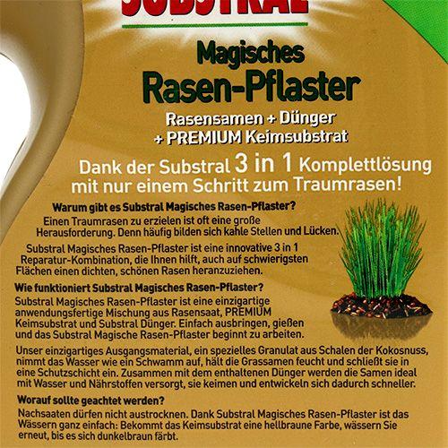 Substral Magisches Rasenpflaster Rasensamen mit Substrat 1kg