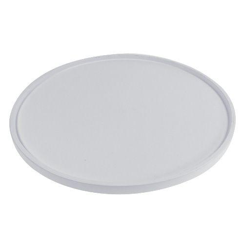 Tablett rund Weiß Ø39cm preiswert online kaufen