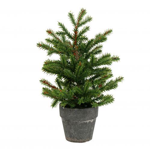 Künstlicher Tannenbaum Im Topf.Tannenbaum Im Topf Grün 23cm