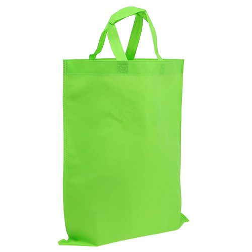 Tasche Grün aus Vlies 37,5cm x 46cm 24St