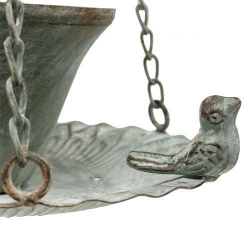 Futterschale Vogeltränke Antik  Ø21cm