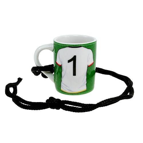Tasse mini Deutschland Nr. 1 Ø4cm H5cm