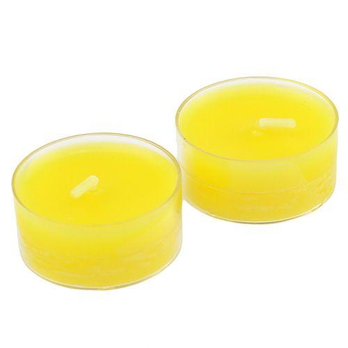 Teelichter Zitrone 18St