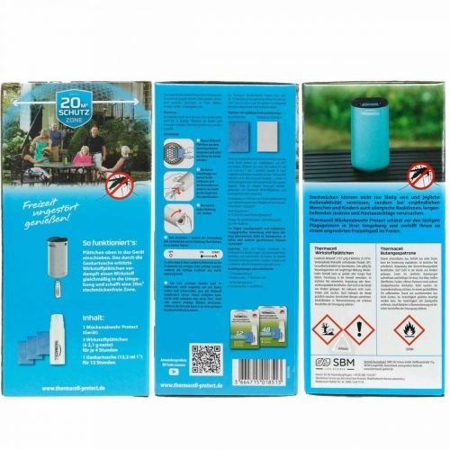 Thermacell Mückenabwehr Protect Für draußen Blau 12Stunden