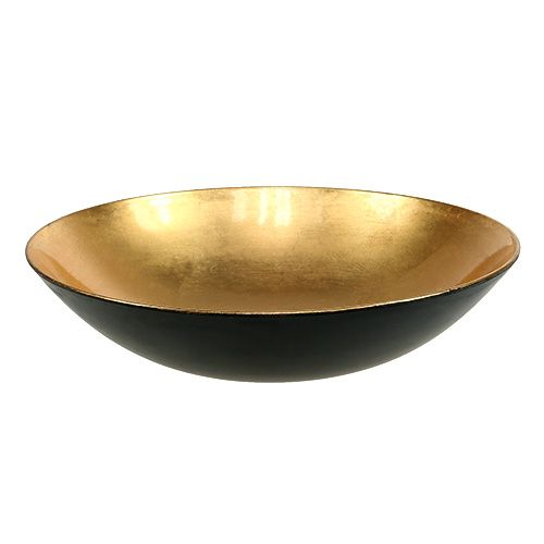 tischdeko schale gold 28cm kunststoff preiswert online kaufen. Black Bedroom Furniture Sets. Home Design Ideas