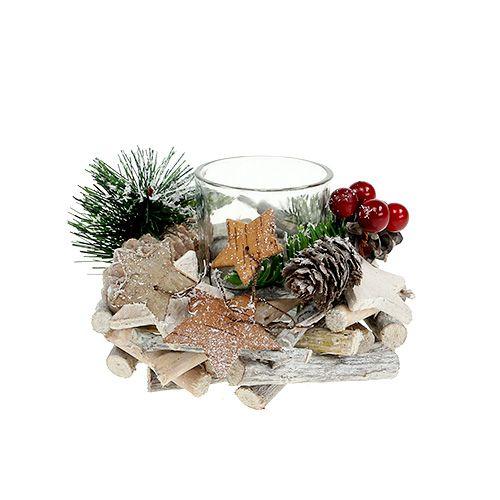 tischdeko weihnachtlich 11cm 2st preiswert online kaufen. Black Bedroom Furniture Sets. Home Design Ideas
