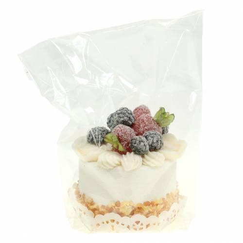 Deko Törtchen Brombeere Food-Attrappe 7cm