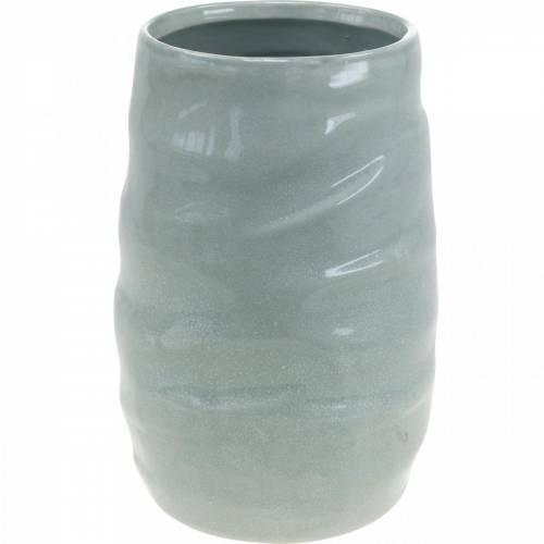Dekovase, Vase aus Keramik, Blumendeko H20cm