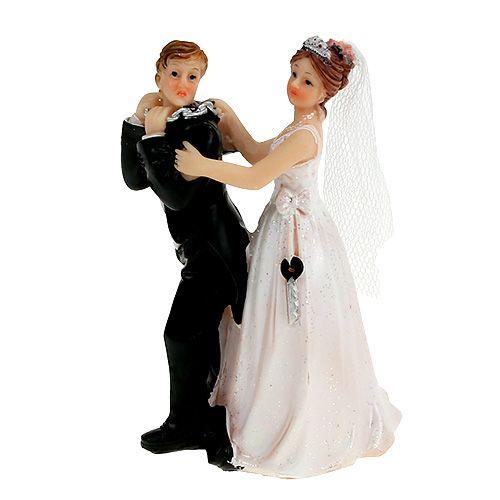 Tortenfigur Brautpaar 10cm