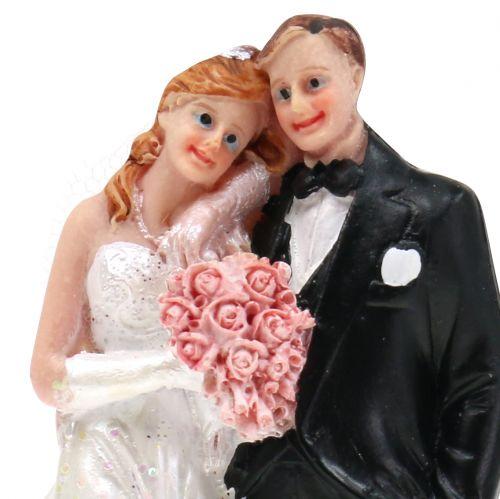 Tortenfigur Brautpaar 13cm