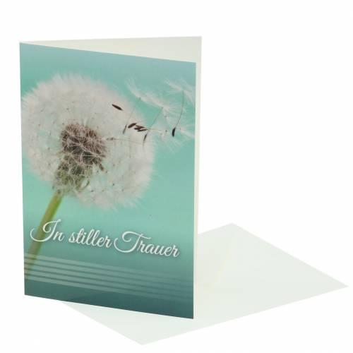 """Trauerkarte """"In stiller Trauer""""  mit Umschlag 1St"""