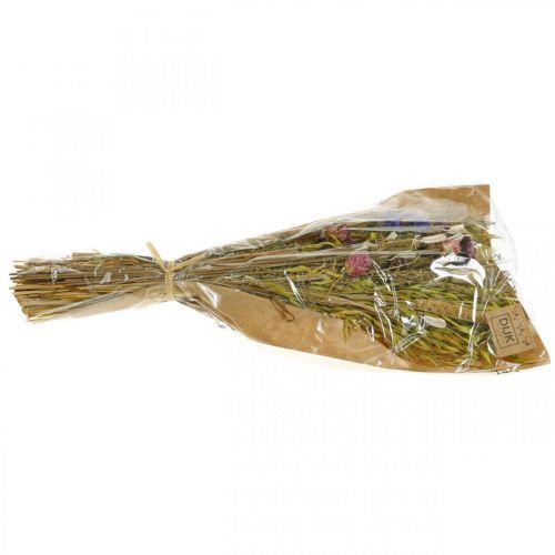Trockenblumen Bouquet Natur-Pink 45cm