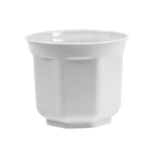 """Übertopf """"Tino"""" Ø26cm Weiß"""