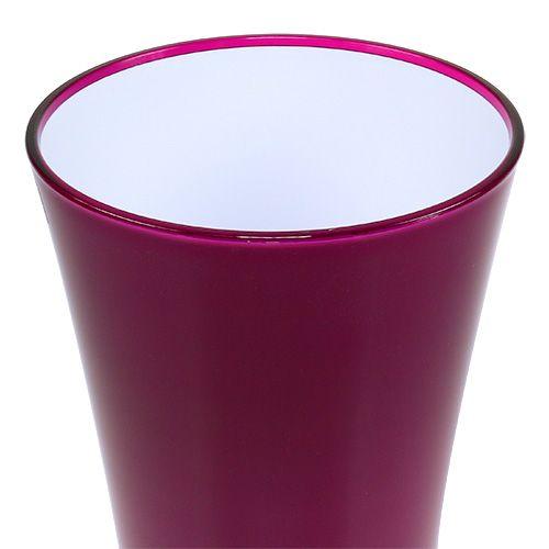 "Vase ""Fizzy"" Ø29cm H44,5cm Erika, 1St"