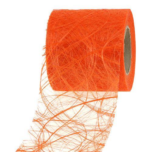 Vlies 8cm 25m Orange