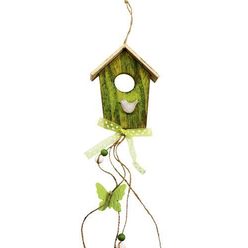 vogelhaus zum h ngen gr n 15cm l65cm 3st preiswert online kaufen. Black Bedroom Furniture Sets. Home Design Ideas