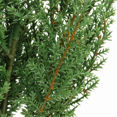 Wacholderzweig künstlich Grün Dekozweig Weihnachten 39cm 6St