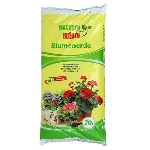 Wachsen & Blühen Blumenerde (20 Ltr.)