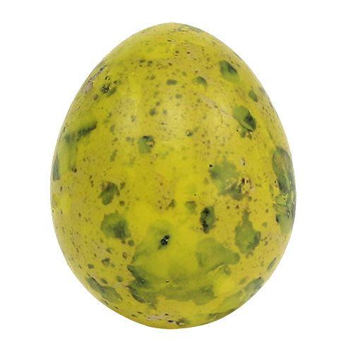 Wachtelei 3cm Gelb Ausgeblasene Eier 50St
