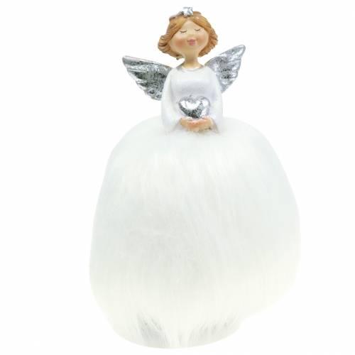 Weihnachten Deko Weihnachtsschmuck Engel Porzellan Baumschmuck 13*8,5*10 cm
