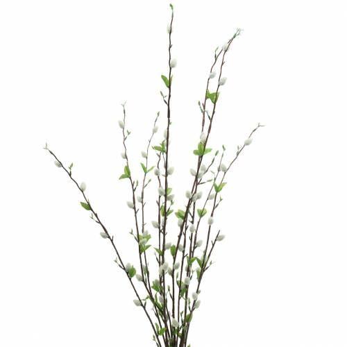 Weidenkätzchen Zweig künstlich 92cm