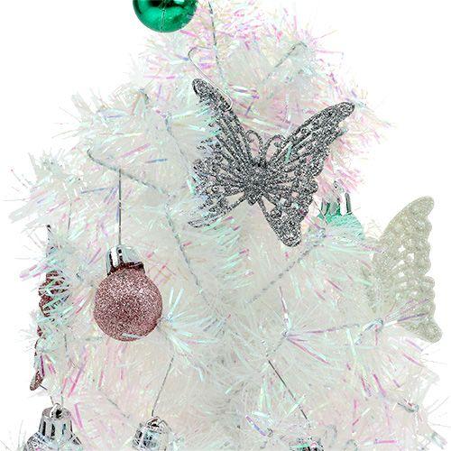 weihnachtsdeko mini baum bunt 43cm preiswert online kaufen. Black Bedroom Furniture Sets. Home Design Ideas
