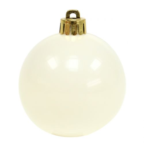 Weihnachtskugel Mix Rosa, Grau, Weiß Ø5,5cm 10St