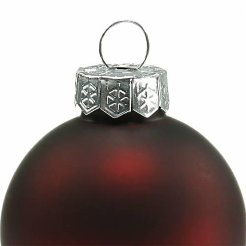 Weihnachtskugel Ø4cm Granatapfel Sortiert 28St Baumschmuck