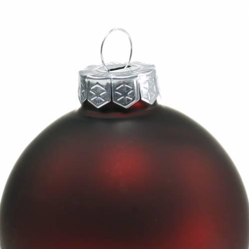 Weihnachtskugel Ø6cm Granatapfel Sortiert 28St Baumschmuck