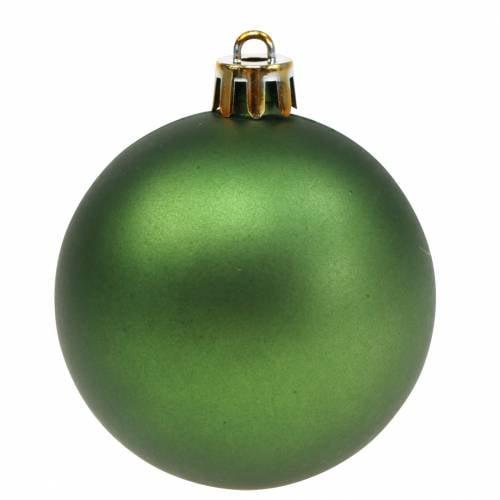 Christbaumschmuck Weihnachtskugel Grün Ø6cm 12St