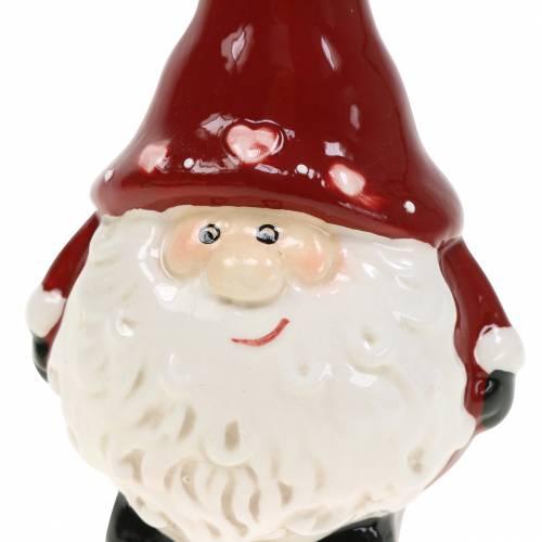 Weihnachtsdeko Weihnachtsmann Dekofigur 10cm 2St