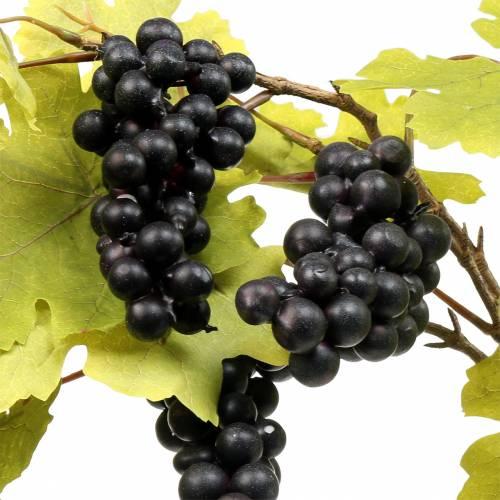 Weinlaubzweig mit Trauben 76cm