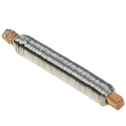 Wickeldraht Basteldraht Edelstahl 0,65mm 100g