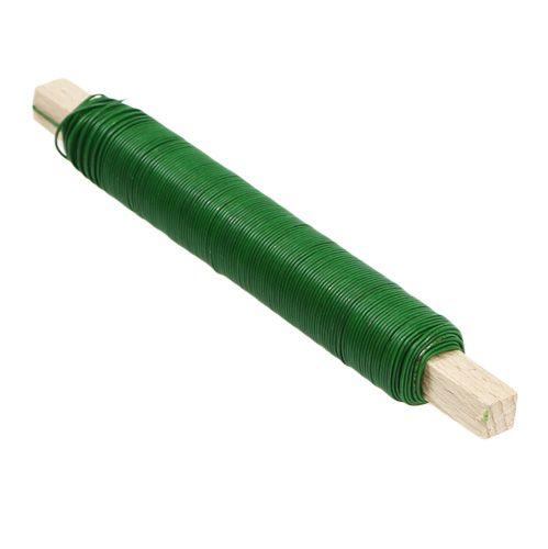 Wickeldraht Basteldraht grünlackiert 0,65mm 100g
