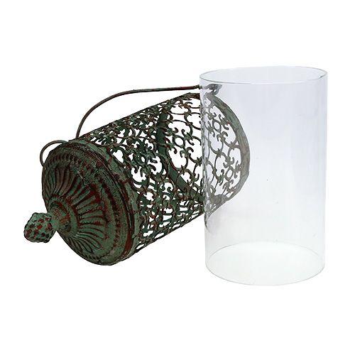 windlicht zum h ngen 9 5cm h20cm gr n 1st preiswert online kaufen. Black Bedroom Furniture Sets. Home Design Ideas