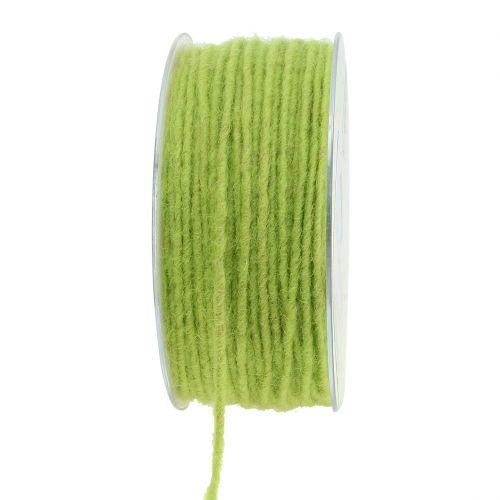 Wollschnur Grün 3mm 100m