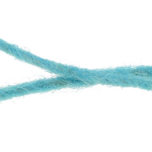 Wollschnur Hellblau 3mm 100m