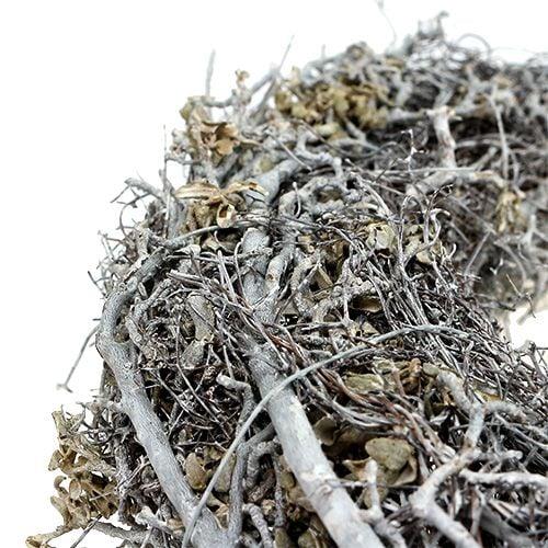 Zweigkranz Ø30cm Weiß