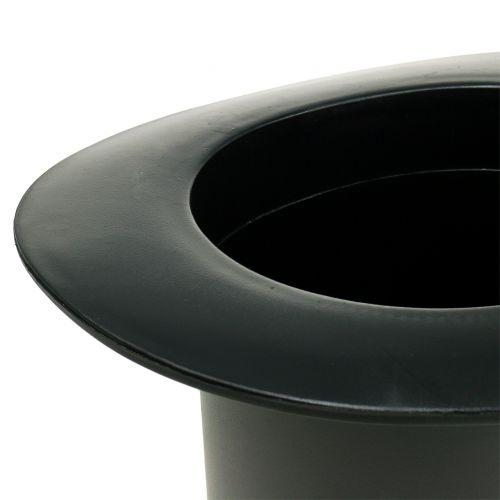 Zylinder Schwarz H18cm