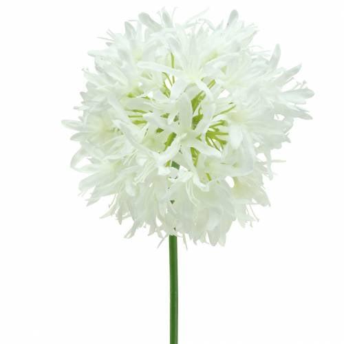 Zierlauch Allium künstlich Weiß Ø12cm H62cm