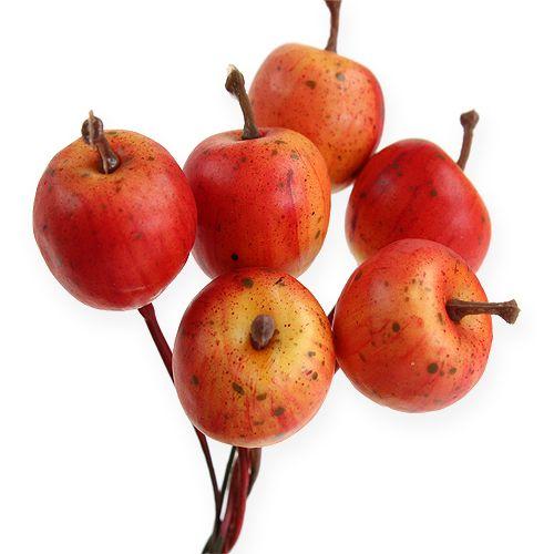 Mini-Äpfeln 2cm am Draht 54St