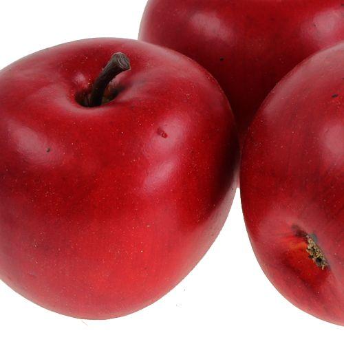 Deko-Apfel Rot 6,5cm 12St